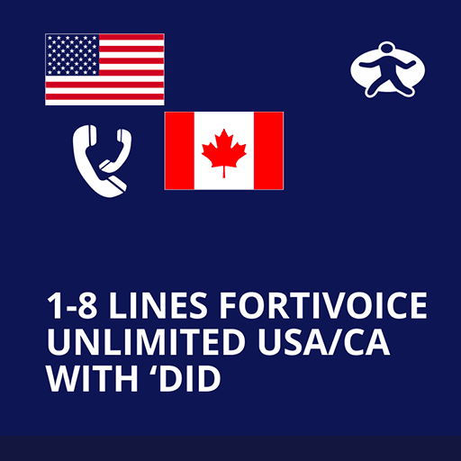 fortivoice-1-lines-unlimied-US-CA-DID-voip1