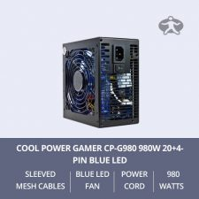 Cool-Power-Gamer-CP-G980-980W-20+4-pin-Blue-LED