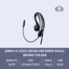 Jabra UC Voice 250 MS USB Wired