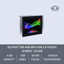 Eclipse-T180-4GB-MP3-USB-2.0-Touchscreen---Silver