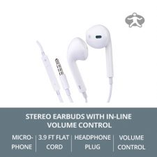 Stereo-Earbuds-with-In-Line-Volume-Control