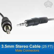 3.5mm stereo cable (25 ft)