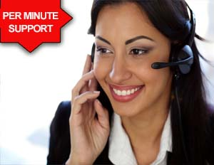 Per Minute Quick Fix Tech Support