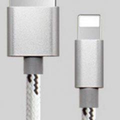 silver nylon